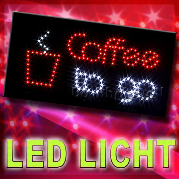 led schild board leuchtschild reklame leuchtreklame. Black Bedroom Furniture Sets. Home Design Ideas