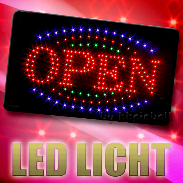 led schild board leuchtschild reklame leuchtreklame stopper licht werbung ebay. Black Bedroom Furniture Sets. Home Design Ideas