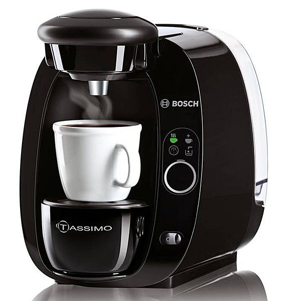 bosch espressomaschine tassimo t20 espresso kaffeemaschine schwarz kaffee. Black Bedroom Furniture Sets. Home Design Ideas