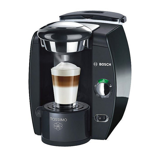 bosch espressomaschine tassimo t20 espresso kaffeemaschine schwarz kaffee ebay. Black Bedroom Furniture Sets. Home Design Ideas