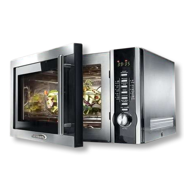 hanseatic premium line kombi mikrowellen grill microwave. Black Bedroom Furniture Sets. Home Design Ideas