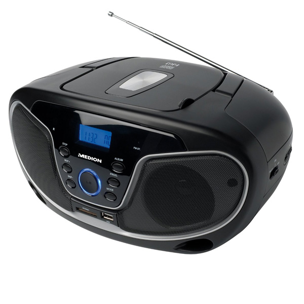 Taki Taki Lumba Mp3 Audio: MEDION MD82760 CD/MP3 Radio Sound System Kompaktanlage USB