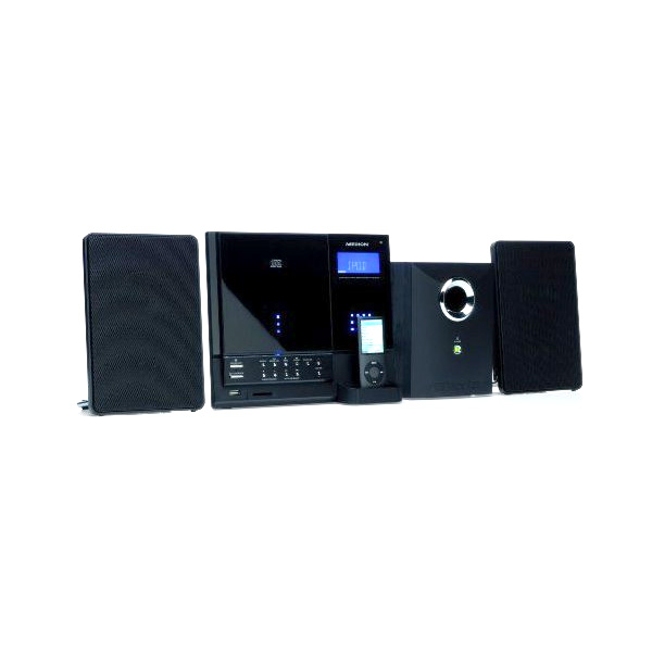 medion cd mp3 micro anlage ipod docking station pll radio. Black Bedroom Furniture Sets. Home Design Ideas