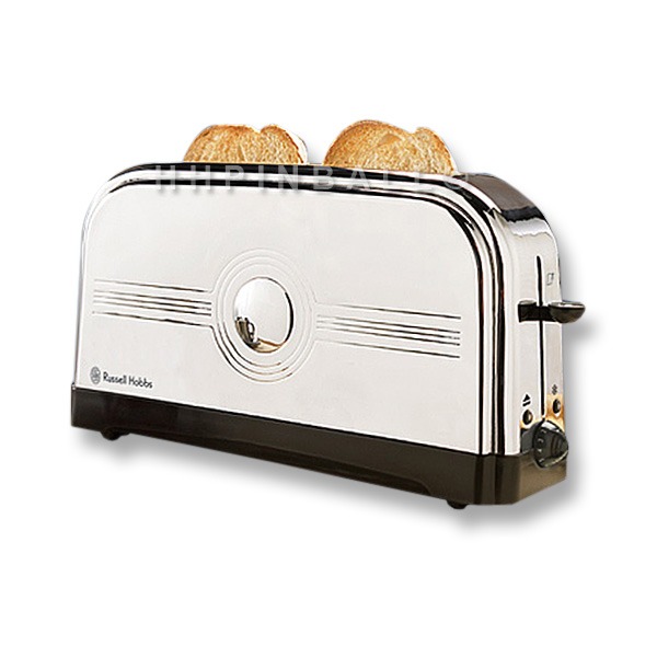 russell hobbs art deco 2 scheiben desin langschlitz toaster 13424 edelstahl ebay. Black Bedroom Furniture Sets. Home Design Ideas