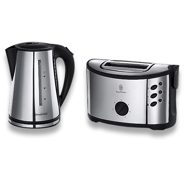 russell hobbs regent 2 er k chen set design toaster. Black Bedroom Furniture Sets. Home Design Ideas