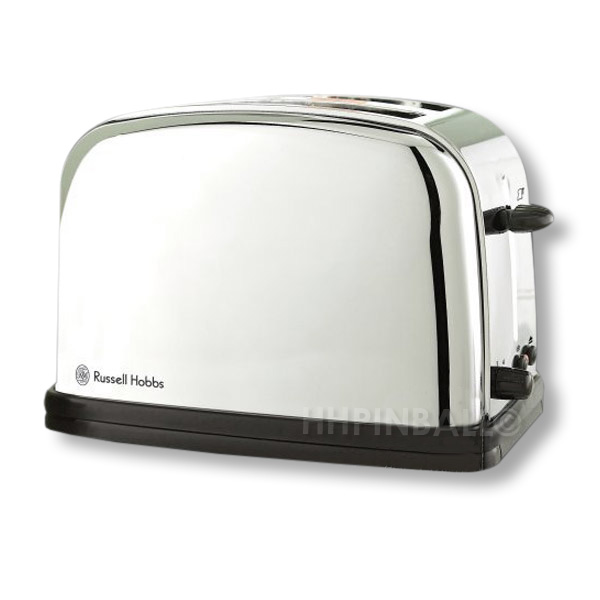 russell hobbs 2 scheiben design toaster futura edelstahl hochglanz bware beule ebay. Black Bedroom Furniture Sets. Home Design Ideas