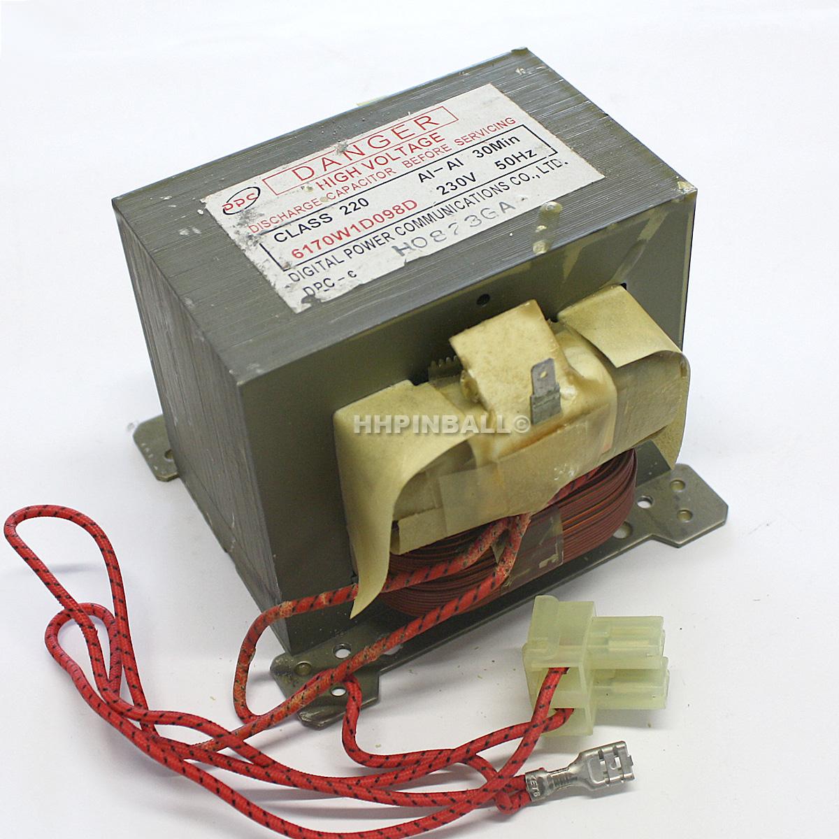 mikrowelle trafo transformator hochspannungstrafo mikrowellentrafo