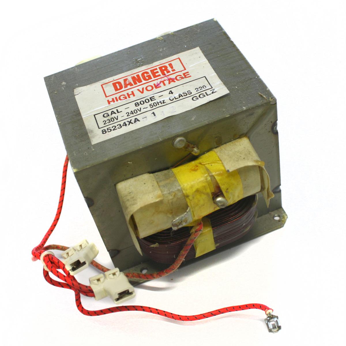 mikrowelle trafo transformator hochspannungstrafo 800w
