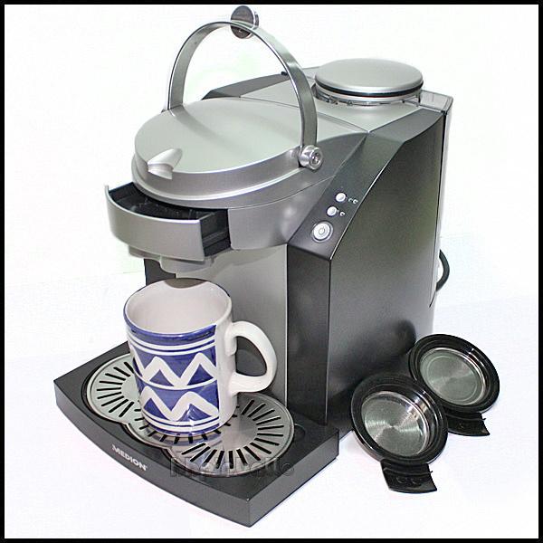medion kaffeepadmaschine pad kaffeemaschine padmaschine ebay. Black Bedroom Furniture Sets. Home Design Ideas