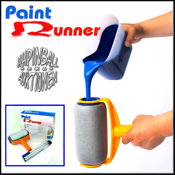 paint runner farbroller farbwalze malerrolle maler walze farbrolle ohne tropf ebay. Black Bedroom Furniture Sets. Home Design Ideas