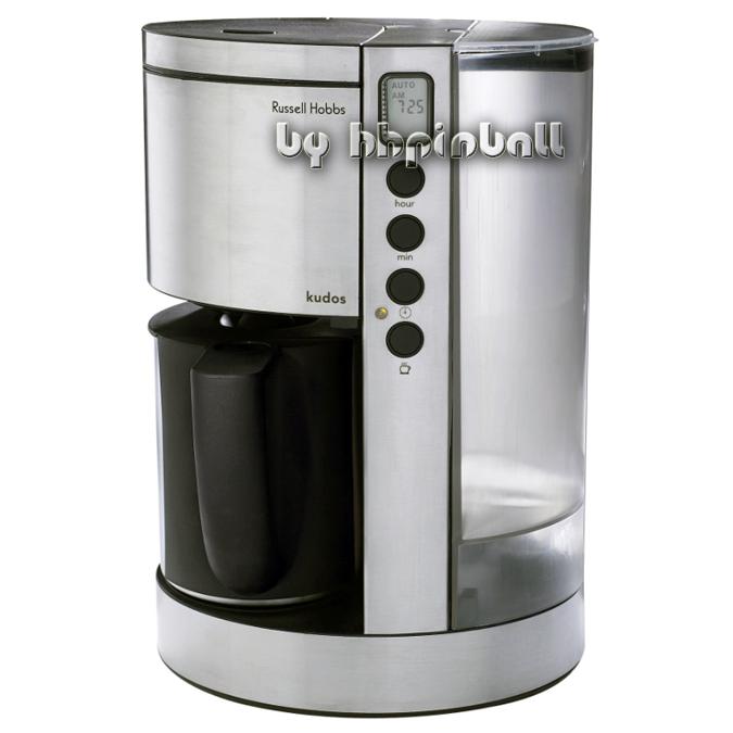 russell hobbs kudos kaffeemaschine faszination design b ebay. Black Bedroom Furniture Sets. Home Design Ideas