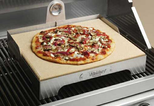 villaware pizza grill bbq pizza maker pizzastein gasgrill pizzagrill steinplatte ebay. Black Bedroom Furniture Sets. Home Design Ideas